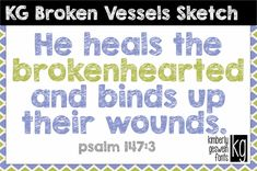 KG Broken Vessels Sketch  A chalkboard sketch font