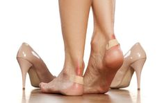 Breaking in new shoes can be a real pain (literally) and cause blisters to form on your feet. Unfortunately, once you get a blister you can only do so much to get rid of … How To Heal Blisters, Prevent Blisters, Stiletto Heels, High Heels, Shoes Heels, Essential Oils For Blisters, Pumps, New Shoes, Beauty
