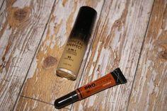 Milani foundation and LA girl orange correcting concealer