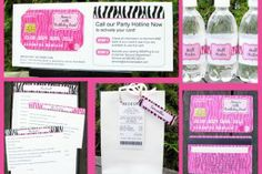 Mall Scavenger Hunt Invitation & Printable Party Collection