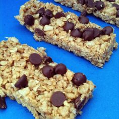 No Bake Chewy Granola Bars by @Angela Gray Martin for My Kids