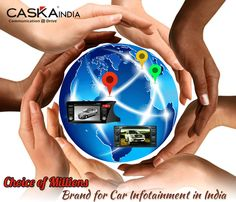 CASKA India for GPS based car navigation system, car multimedia player and headrest screen as best system for branded cars with accessories brought to India by Auto Trendz Impex Pvt Ltd.