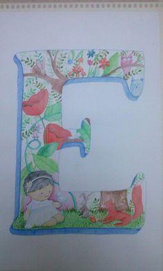 E para el bautismo de Eleonora :) - Julia Civit ilustración
