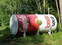 Campbell S Soup Can Propane Tank Now You Could Have Fun With That