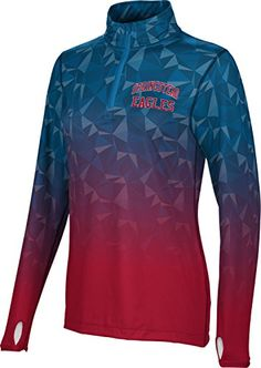 ProSphere Womens Springstead High School Maya Half Zip Long Sleeve Large *** Details can be found by clicking on the image.