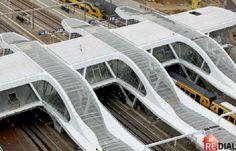 The Netherlands' Arnhem Railway Station.....