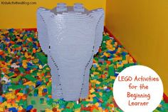 7 LEGO Activities for Younger Kids - simple learning experiences that kids will love.