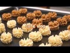 Dessert Cafe Vlog | Making Jenny Cookies, Tiramisu, scone..| Satisfying Desserts Making Video - YouTube Tiramisu, Jenny Cookies, Kinds Of Cookies, Scones, Catering, Healthy, Sweet, Desserts, Food