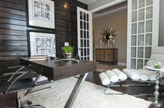 Modern Mans Study - Contemporary - Home office - Photos by Masterpiece Interiors, Inc. | Wayfair