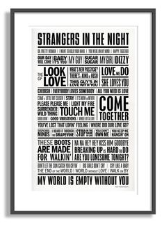 1960s: A love story (by typographyshop)