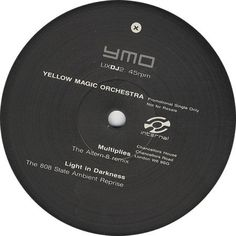 """For Sale - Yellow Magic Orchestra Multiplies UK Promo  12"""" vinyl single (12 inch record / Maxi-single) - See this and 250,000 other rare & vintage vinyl records, singles, LPs & CDs at http://eil.com"""