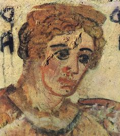 Mother of Lars Velch. Detail.3rd—2nd centuries B.C.Tarquinia, Tomb of the Shields.