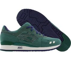 huge discount ab0c8 e19c5 BAIT x Asics Tiger Gel-Lyte III Premium 3M Rings Pack - Green Ring (olive    navy)