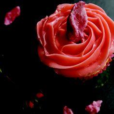 Cupcakes à l'eau de rose.  Jil Depasse.
