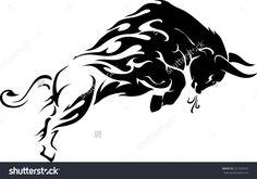 Bulls Stock Vectors & Vector Clip Art | Shutterstock