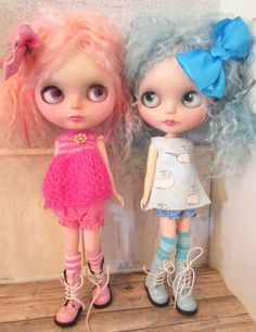 Pastel Twins, via Flickr. These would be cute in my shop