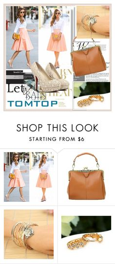 """TOMTOP+ 2"" by damira-dlxv ❤ liked on Polyvore featuring vintage, tomtop and tomtopstyle"
