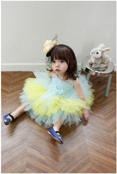 アンヌワンピース(ライムグリーン) : かわいい!絵本みたいな子供服!ANNIKA アニカ 2012春夏COLLECTION 韓国 - NAVER まとめ