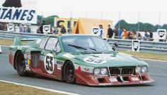 Lancia Beta Monte Carlo Turbo group 5 #1006 - Finotto - Facetti during the 1980 Le Mans 24 hours. FSC