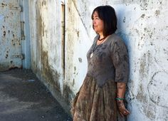 stories and tales from the prophet of bloom on the edge of the whirled.dyeing for a living India Flint, India Fashion, Tie Dyed, Wabi Sabi, Tie Dye Skirt, Bloom, Daughter, Shirt Dress, Photo And Video