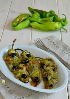 friggitelli mozzarella e olive al forno gp