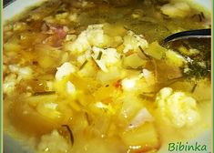 Czech Recipes, Ethnic Recipes, Cheeseburger Chowder, Risotto, Macaroni And Cheese, Recipies, Food And Drink, Meat, Baking