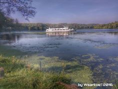 water, transportation, nautical vessel, mode of transport, boat, tree, moored, lake, travel, tranquility, reflection, nature, tranquil scene, sky, scenics, river, blue, day, growth, calm, non-urban scene, tourism, dock, outdoors, beauty in nature, cloud - sky, journey, vacations, passenger craft, no people, riverbank