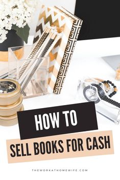 Two Successful Sellers Share Their Tips On How To Sell Books For Cash, Sell Old Books, Sell Books On Amazon, Make Money From Home, Way To Make Money, Make Money Online, Extra Cash, Extra Money, Ebay Selling Tips
