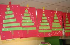 Strip Christmas Tree