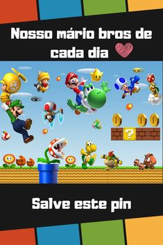 Kitsch Kawaii Mario Brother Mario Seta Encanto Colgante 1up X 3 Yoshi Koopa