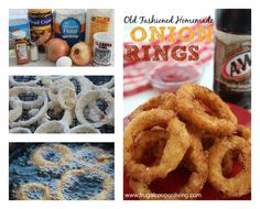 Homemade Old Fashioned Onion Rings Recipe #recipe #onionrings