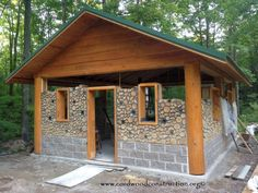 Cordwood Log Homes - Woodshop Projects