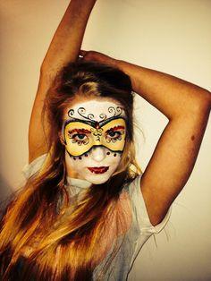 My music video variation- MUA Chloe Palser, model Izzi Oliver