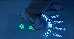 Multi Touch Boden-Display – Interaktiver Fußboden