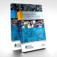 Libros inventario de Presas y Centrales Hidroeléctricas de la República Argentina :: www.perezdisenio.com.ar