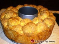 Greek Desserts, Greek Recipes, Greek Cooking, Cooking Time, How To Make Bread, Food To Make, Salty Cake, Sweet Bread, Yummy Cakes