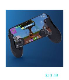 $13.49 - Fortnite Controller Touch Screen Mobile Mini Gamepad Joystick For Ios & Android #ebay #Electronics