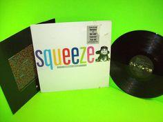 Squeeze – Babylon And On 1987 Vinyl LP Record TRANSLUCENT Black Vinyl NM Shrink…