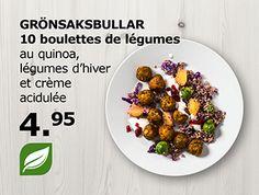 IKEA Switzerland - Vege balls with quinoa, beans and cream