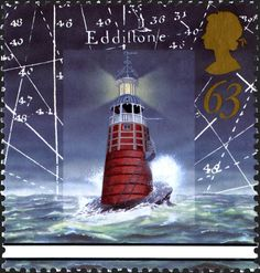 Royal Mail Special Stamps | Lighthouses Eddystone Lighthouse. Plymouth. 1698