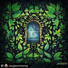 Encerrando por hoje com essa página linda da @omgjasmineomg, sempre surpreendendo com suas pinturas  ⓑⓞⓐ ⓝⓞⓘⓣⓔ amorecos!  ______________________________ #coloring_secrets #秘密花园 #JardimSecretoTop #jardimdadcores #jardimsecreto #secretgarden #coloring #secretgardenbook #artecomoterapia ______________________________