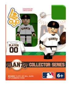 Giants Collector Series Minifigure - San Francisco Giants