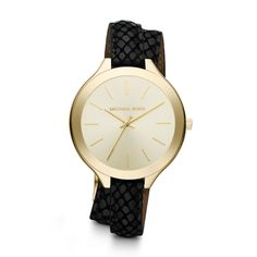Michael Kors Runway MK2315 Gold/Black Watch