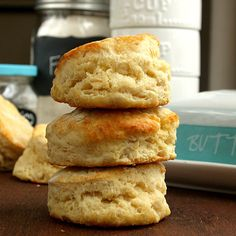 Flaky Buttermilk Biscuits (recipe) - On Sugar Mountain
