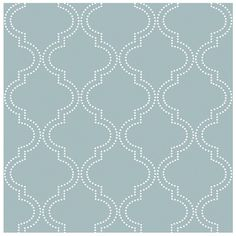 Wallpops 'Quatrefoil' Reusable Peel & Stick Vinyl Wallpaper (18.500 CRC) ❤ liked on Polyvore featuring home, home decor, wallpaper, backgrounds, slate blue, vinyl home decor, removing vinyl wallpaper, quatrefoil wallpaper, reusable wallpaper and removable wallpaper