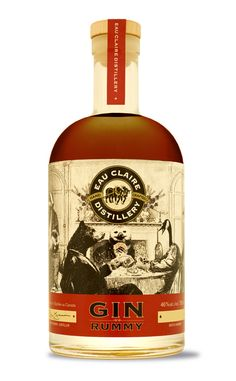 A Special Seasonal Offering – Gin Rummy – Unique, barrel-finished and with a festive taste of gin, rum and your favourite spiced fruitcake. Limited Edition.