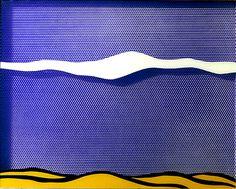Roy Lichtenstein, Arctic Landscape, 1964, Pop-Art