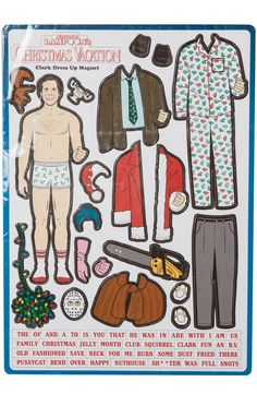 Clark Griswold Christmas Vacation Magnet Set