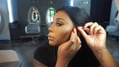 Glueless Lace Wig Install HOW TO - YouTube