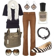black & bronze, created by htotheb.polyvore.com